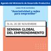 16/11-Asociatividad y redes para emprender