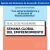 19/11-Los emprendedores y el acceso al financiamiento
